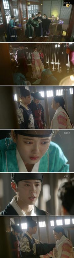 [Spoiler] Added episode 3 captures for the #kdrama 'Moonlight Drawn by Clouds'
