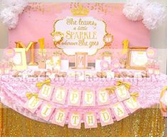 Birthday girl princess backdrops ideas for 2019 First Birthday Crown, First Birthday Parties, First Birthdays, Princess Birthday, Princess Party, Girl Birthday, Happy Birthday, Princess Crowns, Sleeping Beauty Party