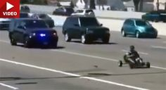 Mario Kart Meets Grand Theft Auto In Bizarre Oakland Police Chase #Offbeat_News #Police_Cars