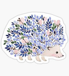 Hedgehog stickers featuring millions of original designs created by independent artists. Cute Laptop Stickers, Bubble Stickers, Cool Stickers, Printable Stickers, Journal Stickers, Scrapbook Stickers, Tumblr Sticker, Cenas Teen Wolf, Homemade Stickers
