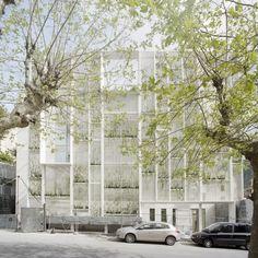 Gosplan - Sea Arts hotel facade, Camogli 2012. Photos (C) Anna Positano.