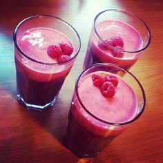 Deser malinowo-jagodowy z kaszą jaglaną