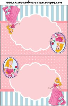 Sleeping Beauty: Free Party Printables.