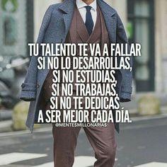 Tu talento te va a fallar