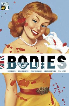 Bodies n°1 - Cover by Fiona Stephenson