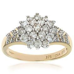 Bague Femme - Or jaune (9 carats) 3.52 Gr - Diamant 0.75 Cts - T 46.5 Bijoux pour tous http://www.amazon.fr/dp/B000VKLN50/ref=cm_sw_r_pi_dp_q-Y6vb0Z9PFCV