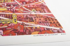 Internationally recognised for his expressive illustrations, Allan Deas has established a style immensely charged by his fond memories of picture books and TV programmes from his childhood in the late 70s and 80s. His enthusiasm for life and experience in the broad design industry enrich his creation and artistic sense.