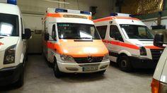 RTW 2 Katastrophenschutz (Hintergrund KTW-B)