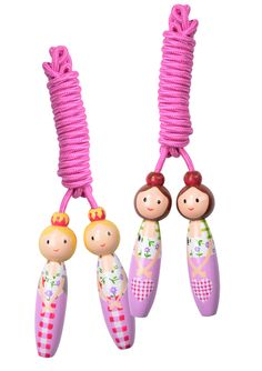 Pretty As A Princess skipping ropes. Choose from light or dark hair. Skipping Rope, Ropes, Dark Hair, Christmas Ornaments, Princess, Holiday Decor, Pretty, Products, Christmas Jewelry
