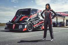 15 year old girl attempts to break world speed record, do you wanna know why does she do this all ??? Record Holder, Monster Trucks, Racing, Running, Auto Racing