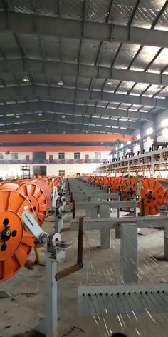 We manufacture wire rope,from raw material,heat treatment,wire drawing,galvanizing…stranding…roping…