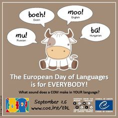 European Day of Languages > Language Fun > Animal sounds