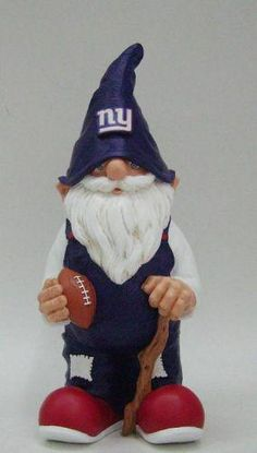 11 in. NFL Forever Collectibles Garden Gnome - New York Giants. Find your team @ ReadyGolf.com