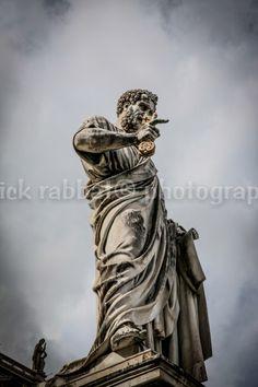 Roman Statue Photo Rome Photo Fine Art by PatrickRabbatPhotos