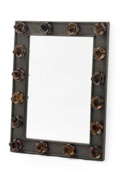 Rusty Rose Mirror
