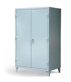 30 Inch Deep Floor Model - Our standard 30 inch heavy duty 12 gauge cabinet. This includes 14 gauge shelves that can be adjusted in 2 inch increments. 3-point locking device can be locked with a standard padlock.