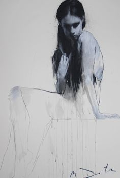 'Kate Seated' © by Mark Demsteader
