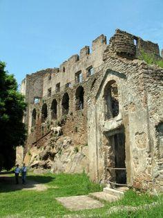 Canale #Monterano (RM),  #Lazio - le rovine di Monterano vecchia