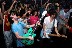 """Hollerado-China - Three of the four members of Hollerado grew up on the same street in Manotick, Ontario a suburb of Ottawa. Hollerado later recorded and periodically lived in Montreal, Quebec where they gained attention as one of Montreal's """"top up-and-coming bands""""."""