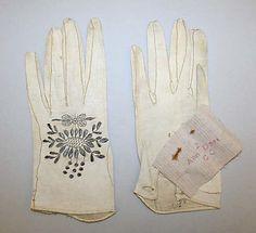 Gloves ca. 1780, British