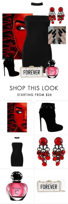 """""""Untitled #5827"""" by princhelle-mack ❤ liked on Polyvore featuring Maxwell Dickson, Alaïa, Boohoo, Paco Rabanne and Kate Spade"""