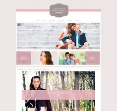 Like the logo, softness, clean lines, layout of the images and the pretty links.