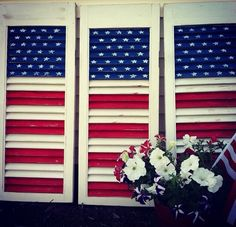 Forth of July shutters
