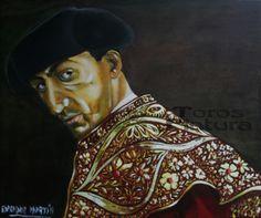 El Monstruo. Miradas de la Fiesta Óleo sobre lienzo 55x46 cm  (435 €)