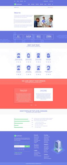 Take a look at About Us - from HostCluster WordPress Theme Web Design, Domain Hosting, Best Wordpress Themes, This Is Us, Author, Website, Amp, Illustration, Design Web