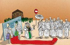 الحكام السعوديون هبطوا بالحج إلى سفرة زيارية - سياحية  #الشجرة_الخبیثة_الملعونة #الشجرة_الملعونة  @alsaudianet Al-saudia.net
