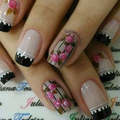 In our lives, there must be a lot of girls who like nails! Imagine that your delicate fingers have very delicate nails on your fingers,… Gorgeous Nails, Love Nails, Pretty Nails, Colorful Nail Designs, Nail Art Designs, Nail Studio, Cool Nail Art, French Nails, Manicure And Pedicure