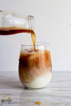 "Chai Tea Latte - make your own ""concentrate"" to mix lattes at your leisure."