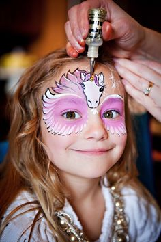 40 Cool Face Painting Ideas For Kids Face Painting Unicorn, Girl Face Painting, Painting For Kids, Body Painting, Face Painting Images, Face Painting Designs, Painting Patterns, Painting Templates, Bunny Face Paint