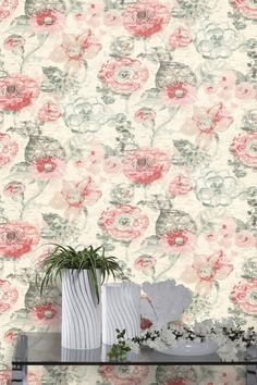 Floral Dream pattern from the Albany Tropical wallpaper collection.