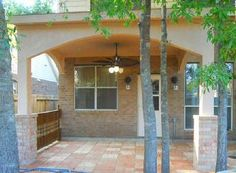 Houston Covered Patio Patio Roof, Concrete Patio, Covered Decks, Outdoor  Living Areas,