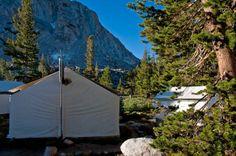 Vogelsang High Sierra Camp awakens for breakfast in Yosemite