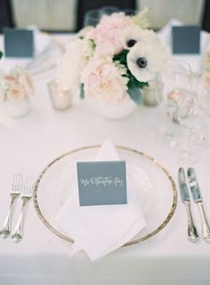 Color Inspiration: Slate and Dusty Blue Wedding Ideas - Kurt Boomer Photography