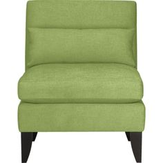 Silhouette Armless Chair in Sofas | Crate and Barrel