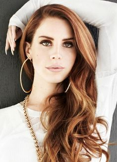 Lana del ray...just such a talent and her voice has this mysterious vibe to it...beautiful and haunting!
