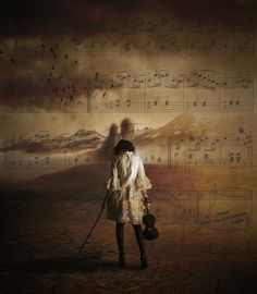 In music I'm not alone anymore… by Angelo Dau
