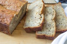 moist and dense banana bread