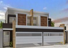fachadas de casas modernas - Pesquisa Google