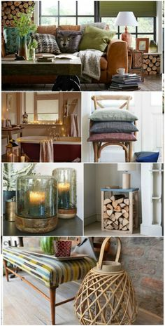 Hygge home decor: Hygge is the Danish way to live well, and in our home this means simple pleasures, cosy soft furnishings, flame lit-lighting, rich colours and natural wooden finishes. Find more ideas and inspiration at housebeautiful.co.uk