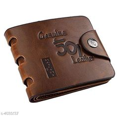 Wallets FASHLOOK TAN 501  WALLET FOR MEN FASHLOOK TAN 501  WALLET FOR MEN Country of Origin: India Sizes Available: Free Size   Catalog Rating: ★3.9 (6109)  Catalog Name: Classic Trendy Men's PU Leather Wallets Vol 2 CatalogID_572432 C65-SC1221 Code: 041-4039137-402