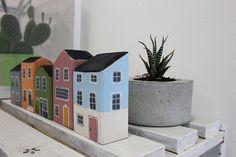 Ornamental wood home от MelancoliaShop на Etsy wood cottage Wooden House Decoration, Wooden Decor, Wooden Crafts, Small Wooden House, Wooden Cottage, Wooden Houses, Cottage In The Woods, House In The Woods, Cottage Christmas