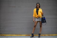 Street-Style New York Fashion Week // Foto © TheUrbanspotter