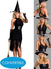 Convertible Witch dress