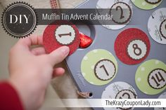 DIY: Muffin Tin Advent Calendar
