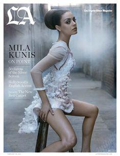 Mila Kunis (Los Angeles Times magazine, feb 2011)