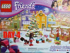 LEGO Friends 2015 Advent Calendar day 4 set # 41102, BONUS ornament